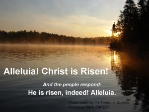 Christ is Risen - St Stephen's Anglican Church