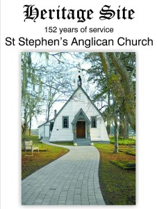 St Stephens Heritage Church Sign