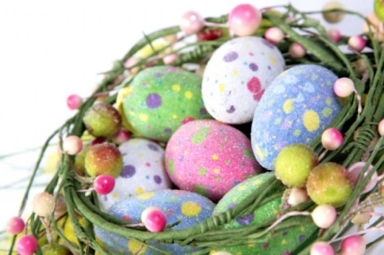 Easter Blessing Branches Nest and Eggs FRIENDS FOREVER Gift Birthday