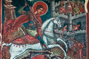 St George is remembered on St George's Day in Canada. ©iStockphoto.com/bogdb