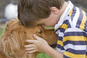 Hug-Your-Hound-Day-Church Give your furry friend a big hug. ©iStockphoto.com/sonyae