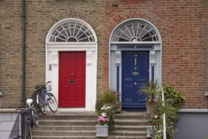 good-neighbor-day-church  Close neighbors in Dublin. ©iStockphoto.com/mustafa6noz